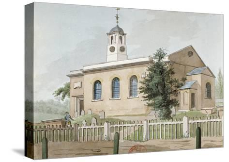 St Mary's Church, Hanwell, Middlesex, C1800--Stretched Canvas Print