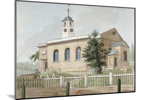 St Mary's Church, Hanwell, Middlesex, C1800--Mounted Giclee Print