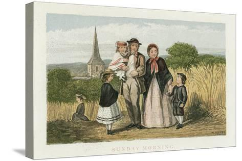 Sunday Morning, C1880--Stretched Canvas Print