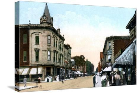 St Catherine Street, Montreal, Canada, C1900s--Stretched Canvas Print
