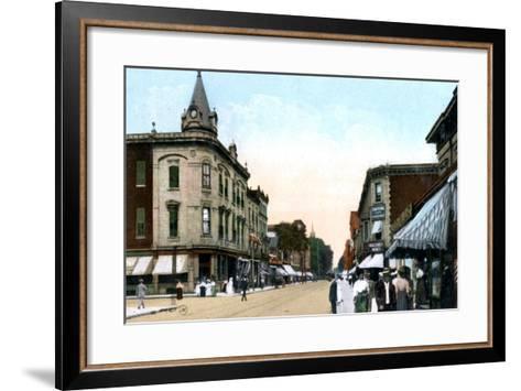 St Catherine Street, Montreal, Canada, C1900s--Framed Art Print