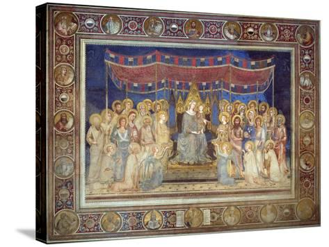 Maestà, 1315-1321-Simone Di Martini-Stretched Canvas Print