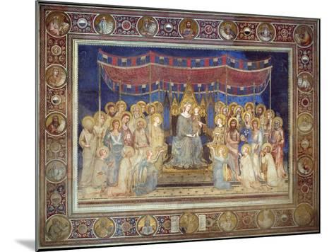 Maestà, 1315-1321-Simone Di Martini-Mounted Giclee Print