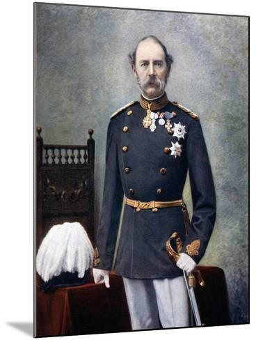 King Christian IX of Denmark, Late 19th-Early 20th Century--Mounted Giclee Print