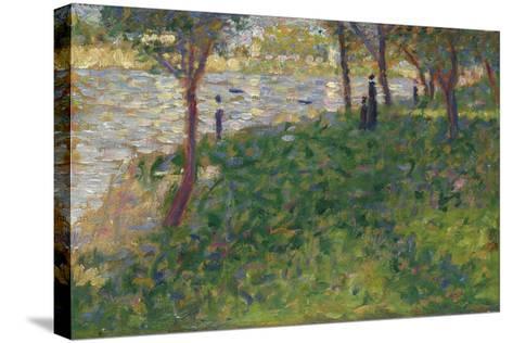 Study for La Grande Jatte, 1884-1885-Georges Seurat-Stretched Canvas Print
