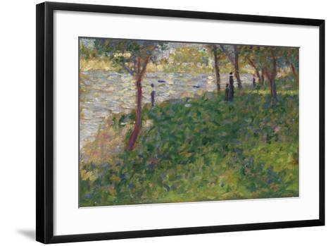 Study for La Grande Jatte, 1884-1885-Georges Seurat-Framed Art Print