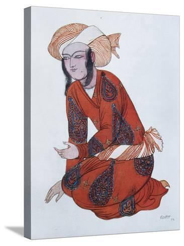 Costume Design for the Ballet Sheherazade, 1922-L?on Bakst-Stretched Canvas Print