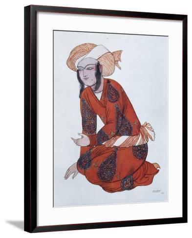 Costume Design for the Ballet Sheherazade, 1922-L?on Bakst-Framed Art Print