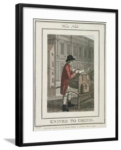 Knives to Grind, Cries of London, 1804-William Marshall Craig-Framed Art Print