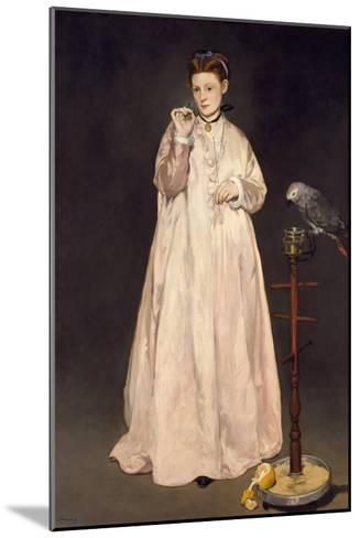 Young Lady in 1866, 1866-Edouard Manet-Mounted Giclee Print