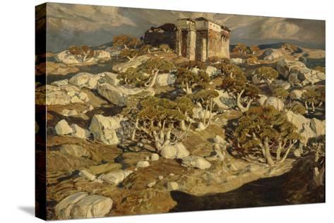 The Ancient Crimea, 1903-Konstantin Fyodorovich Bogayevsky-Stretched Canvas Print