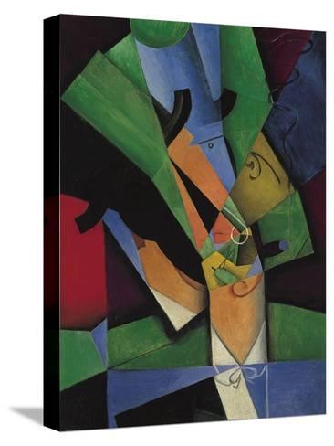 The Smoker (Frank Havilan), 1913-Juan Gris-Stretched Canvas Print