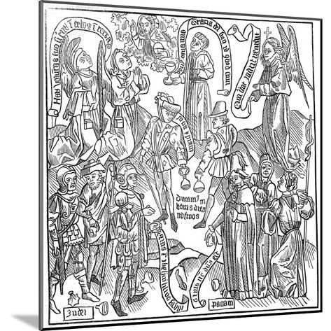 Exercitium Super Pater-Noster, 1844--Mounted Giclee Print