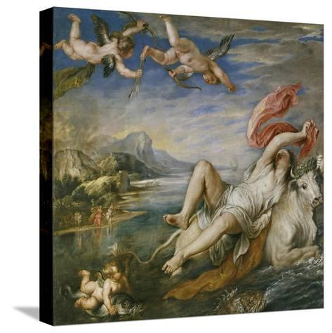 The Rape of Europa (After Titia), 1629-Peter Paul Rubens-Stretched Canvas Print