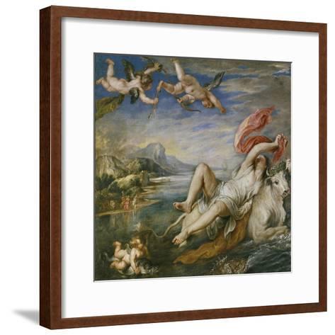 The Rape of Europa (After Titia), 1629-Peter Paul Rubens-Framed Art Print