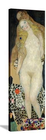 Adam and Eve, 1918-Gustav Klimt-Stretched Canvas Print