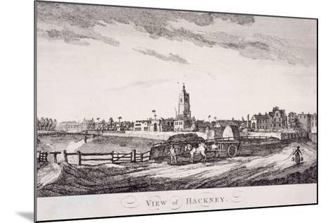 General View of Hackney, London, C1800--Mounted Giclee Print