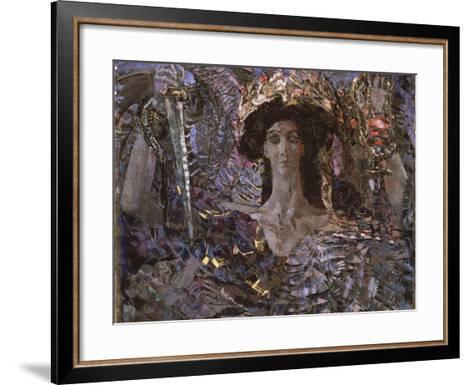 The Six Winged Seraph, 1904-Mikhail Alexandrovich Vrubel-Framed Art Print