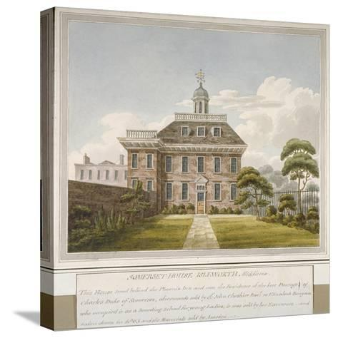Somerset House, Isleworth, Middlesex, C1800--Stretched Canvas Print