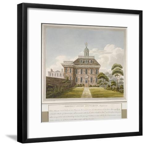 Somerset House, Isleworth, Middlesex, C1800--Framed Art Print