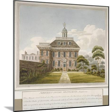 Somerset House, Isleworth, Middlesex, C1800--Mounted Giclee Print