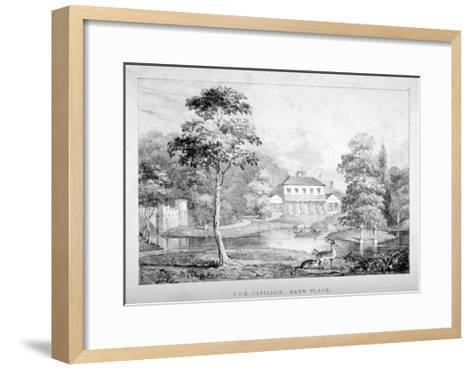 View of the Pavilion, Hans Place, Chelsea, London--Framed Art Print