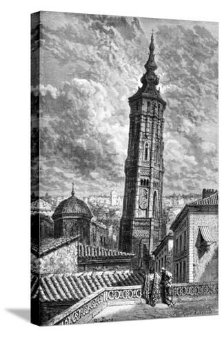 Torre Nueva, Zaragoza, Spain, 1929-Gustave Dor?-Stretched Canvas Print