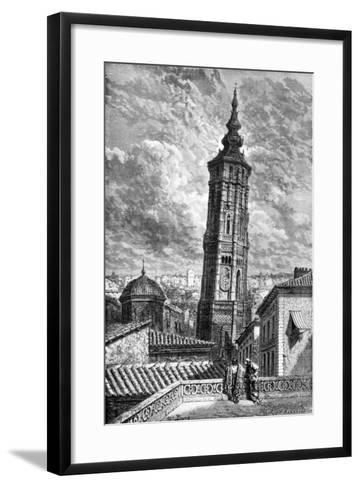 Torre Nueva, Zaragoza, Spain, 1929-Gustave Dor?-Framed Art Print