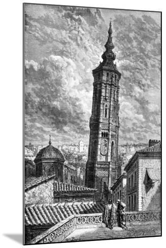 Torre Nueva, Zaragoza, Spain, 1929-Gustave Dor?-Mounted Giclee Print