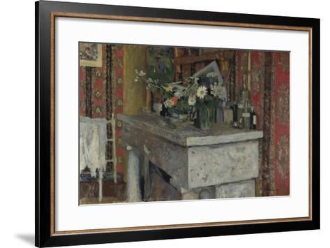 The Mantelpiece (La Cheminé), 1905-?douard Vuillard-Framed Art Print
