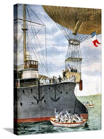 On the Open Sea, 1901--Stretched Canvas Print