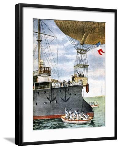 On the Open Sea, 1901--Framed Art Print