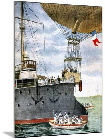 On the Open Sea, 1901--Mounted Giclee Print