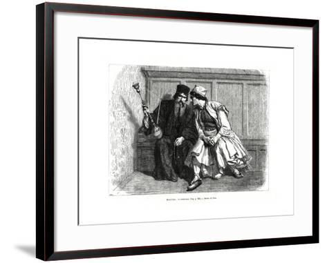 The Confession, Mount Athos, Northern Greece, 1886--Framed Art Print