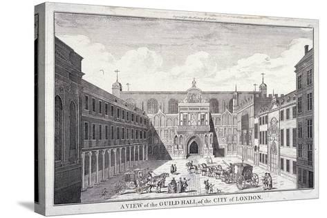 Guildhall, London, 1756--Stretched Canvas Print