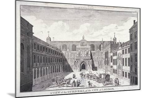 Guildhall, London, 1756--Mounted Giclee Print