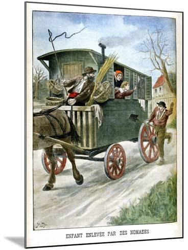 Child Kidnapped by Gypsies, 1902--Mounted Giclee Print