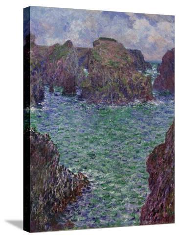 Port-Goulphar, Belle-Île, 1887-Claude Monet-Stretched Canvas Print
