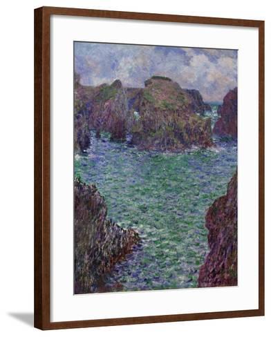 Port-Goulphar, Belle-Île, 1887-Claude Monet-Framed Art Print