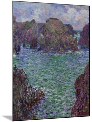 Port-Goulphar, Belle-Île, 1887-Claude Monet-Mounted Giclee Print