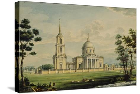 The Akhtyrka Estate, 1827-Alexander Sergeyevich Kutepov-Stretched Canvas Print