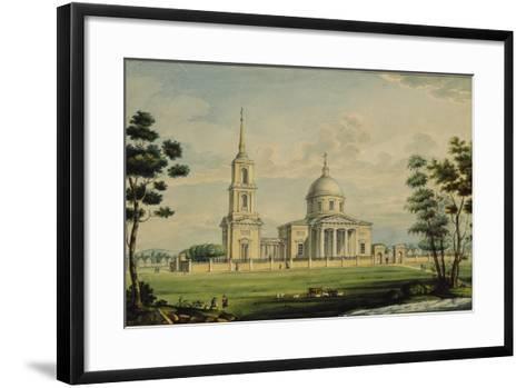 The Akhtyrka Estate, 1827-Alexander Sergeyevich Kutepov-Framed Art Print