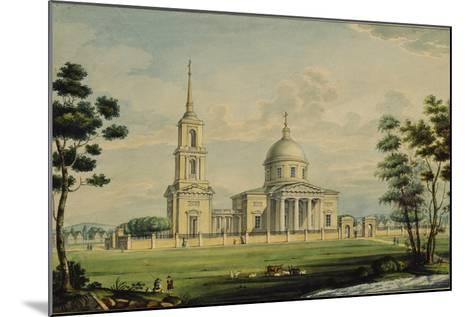 The Akhtyrka Estate, 1827-Alexander Sergeyevich Kutepov-Mounted Giclee Print