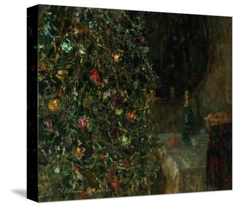 Christmas Eve, 1991-Evgeni Vladislavovich Ryabinsky-Stretched Canvas Print