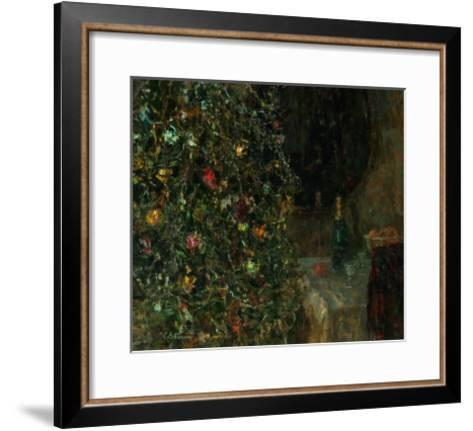 Christmas Eve, 1991-Evgeni Vladislavovich Ryabinsky-Framed Art Print