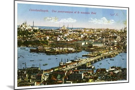 Istanbul, Turkey, Early 20th Century--Mounted Giclee Print