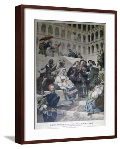 Raphael in the Vatican, 1832--Framed Art Print