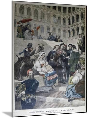Raphael in the Vatican, 1832--Mounted Giclee Print