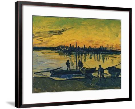 The Stevedores in Arles, 1888-Vincent van Gogh-Framed Art Print