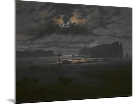 Northern Sea in the Moonlight, C. 1823-Caspar David Friedrich-Mounted Giclee Print